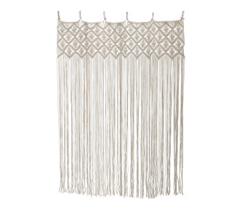 Bloomingville Cotton curtain - nature