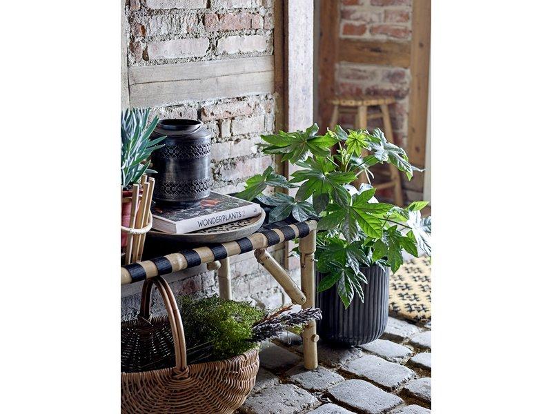 Bloomingville Wandblumentopf-Terrakottabambus