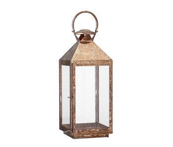 Bloomingville Linterna de metal - cobre