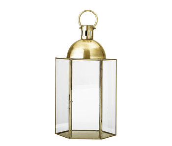 Bloomingville Lantern metal - gold