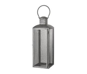 Bloomingville Metal lantern - black L20xH57xW20 cm