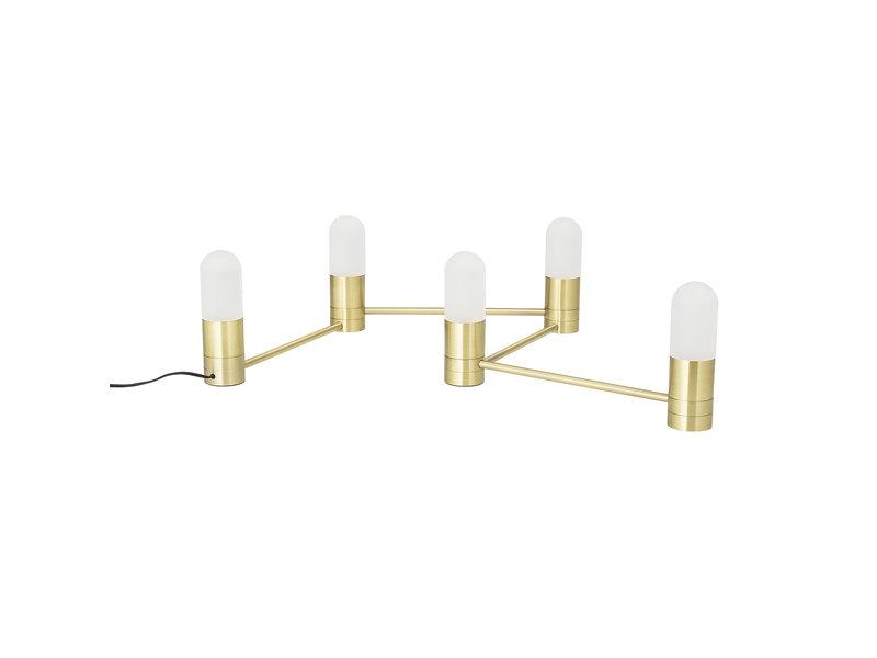 Bloomingville Tafellamp/muurlamp metaal - goud