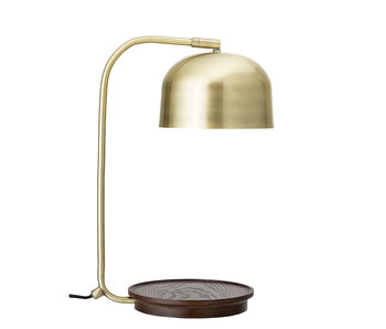 Bloomingville Bordlampe metall - gull