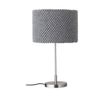 Bloomingville Lampe de table en métal - gris
