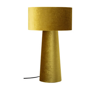 Bloomingville Lampe de table en polyester - jaune