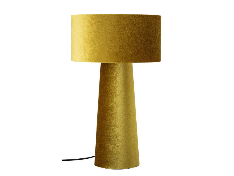 Bloomingville Tischlampe Polyester - gelb