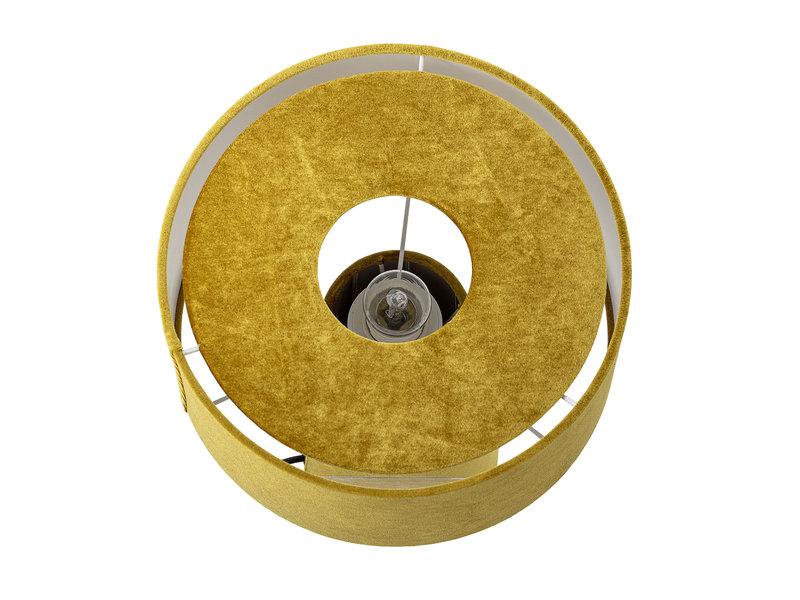 Bloomingville Lámpara de mesa poliéster - amarillo