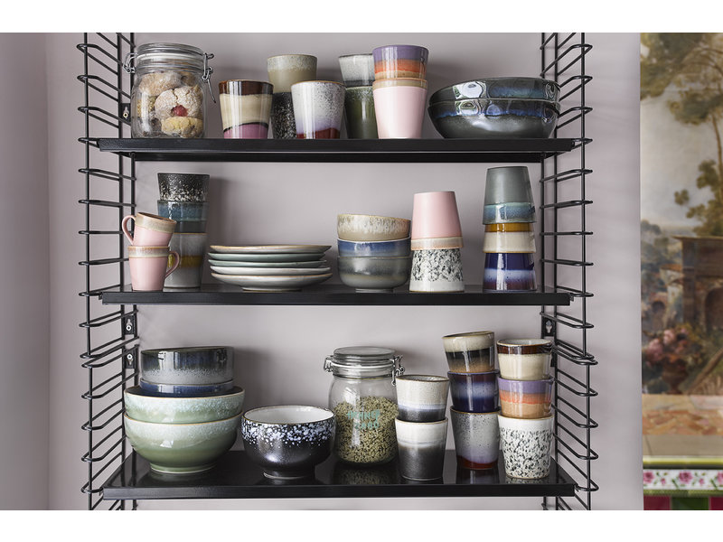 HK-Living Ceramic mugs set 70's