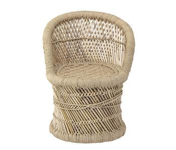 Bloomingville Mini Silla de bambú
