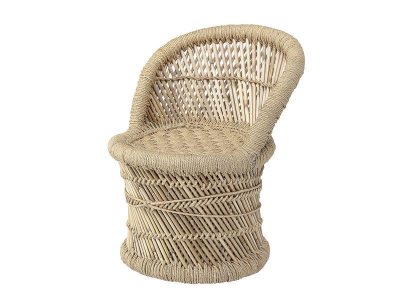 Bloomingville Mini Stoel bamboe