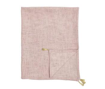 Bloomingville Mini Plaid in cotone - rosa