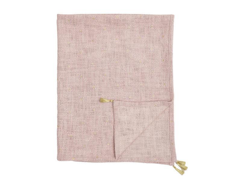 Bloomingville Mini Plaid katoen - roze
