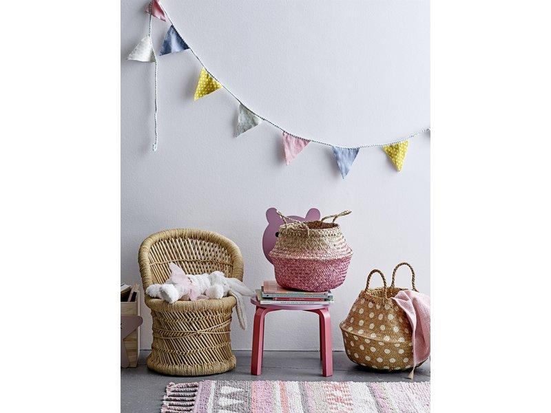 Bloomingville Mini Karierte Baumwolle - Pink