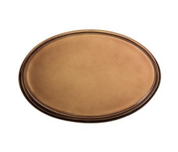 Bloomingville Dienblad glas - bruin
