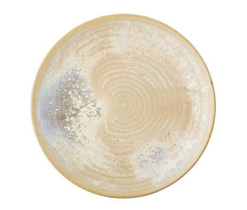Bloomingville Thea keramisk platta - uppsättning av 6 stycken