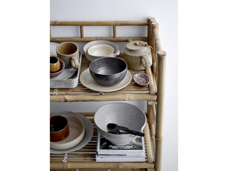 Bloomingville Thea bord keramiek - set van 6 stuks