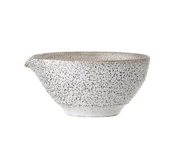 Bloomingville Thea skål grå - sæt med 6 stk Ø16,5xH8 cm