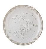 Bloomingville Thea Teller grau - Set von 6 Stück Ø27 cm
