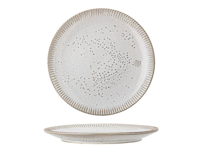 Bloomingville Teaplattan grå - uppsättning av 6 delar Ø27 cm