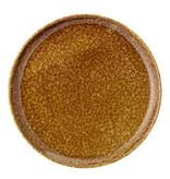 Bloomingville Thea bord bruin - set van 6 stuks Ø21 cm