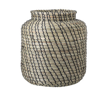 Bloomingville Basket of seagrass - Ø32xH32 cm
