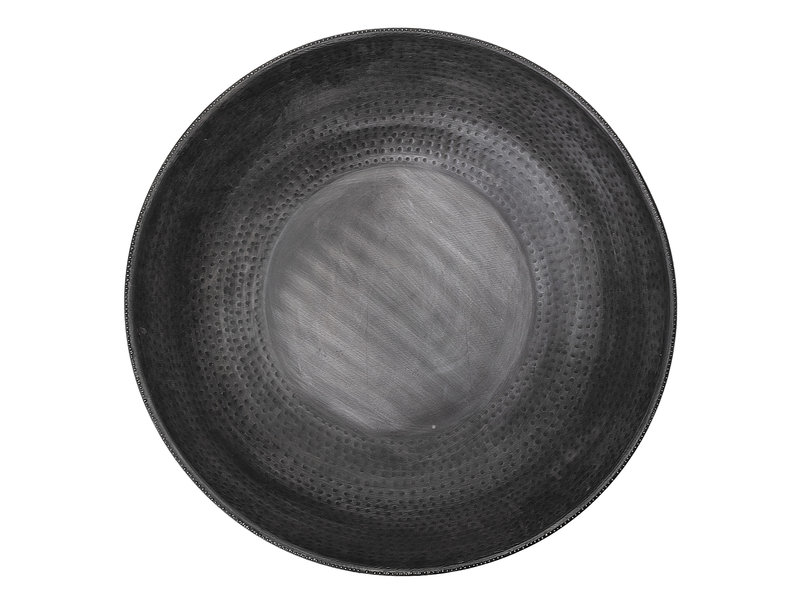 Bloomingville Schaal metaal - zwart