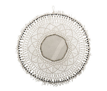 Bloomingville Wall decoration cotton - nature