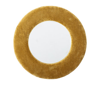 Bloomingville Mirror cotton - yellow
