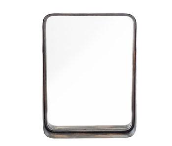 Bloomingville Métal miroir - noir