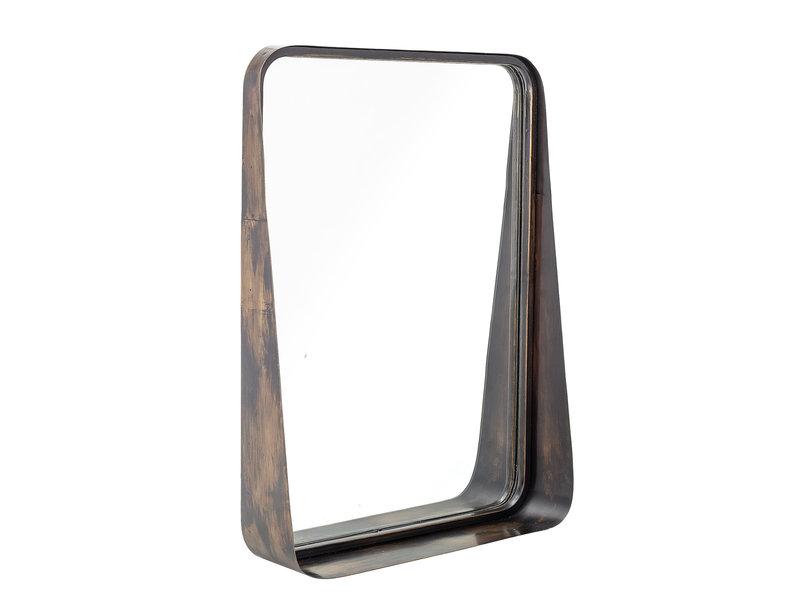 Bloomingville Spegelmetall - svart