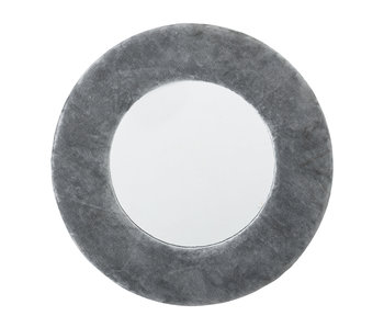 Bloomingville Espejo algodón - gris