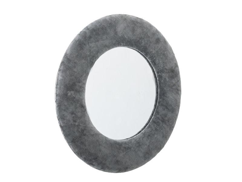 Bloomingville Spiegel Baumwolle - grau