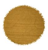 Bloomingville Vloerkleed rond jute geel - Ø150 cm