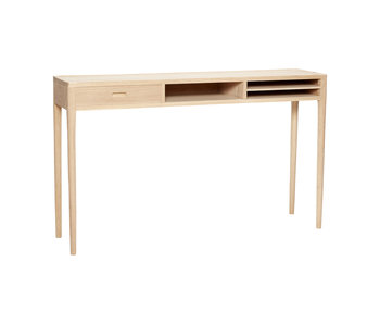 Hubsch Side table with drawer wood