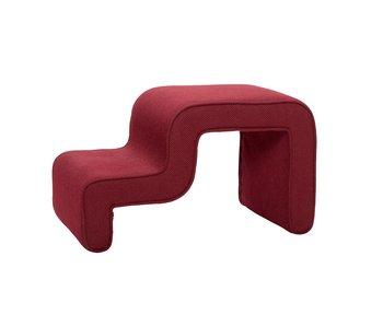 Hubsch Sitzpuff - rot