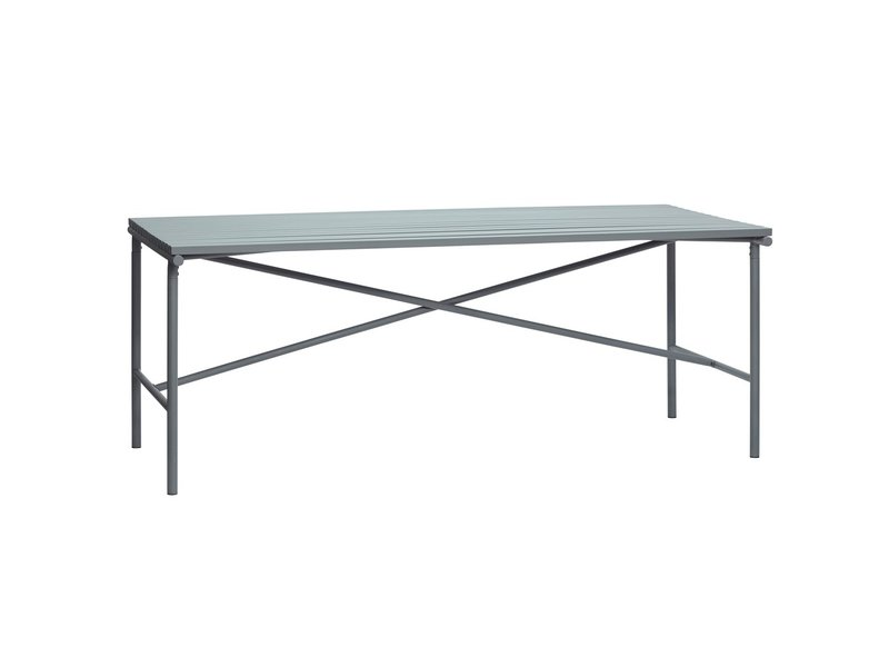 Hubsch Outdoor table metal - gray