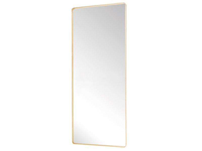 Hubsch Stående speil metall - messing