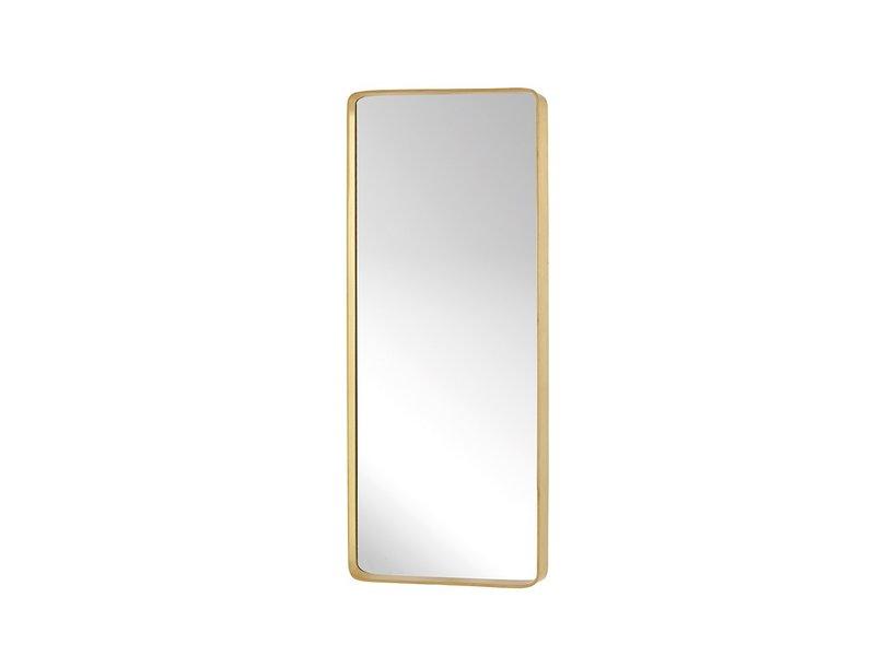 Specchio da parete in metallo - ottone