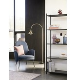 Hubsch Floor lamp metal / marble - brass