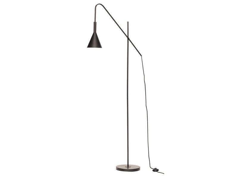 Hubsch Vloerlamp metaal - zwart