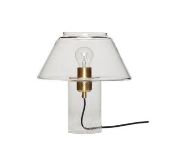 Hubsch Lámpara de mesa de cristal