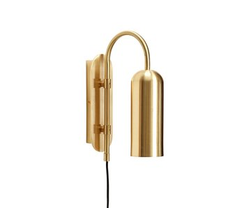 Hubsch Wall lamp - brass
