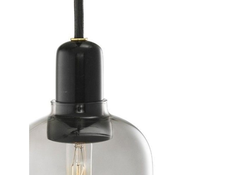 Normann Copenhagen AMP Large hanglamp smoke zwart