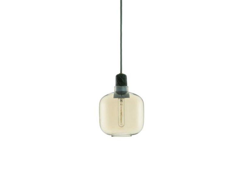 Normann Copenhagen AMP Small hanglamp goud groen