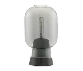 Normann Copenhagen AMP table lamp smoke black