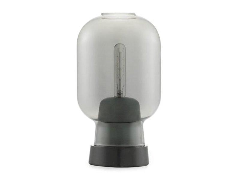 Normann Copenhagen AMP tafellamp smoke zwart