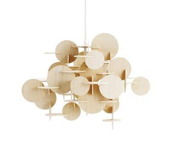 Normann Copenhagen Liten Bau lampe naturlig tre