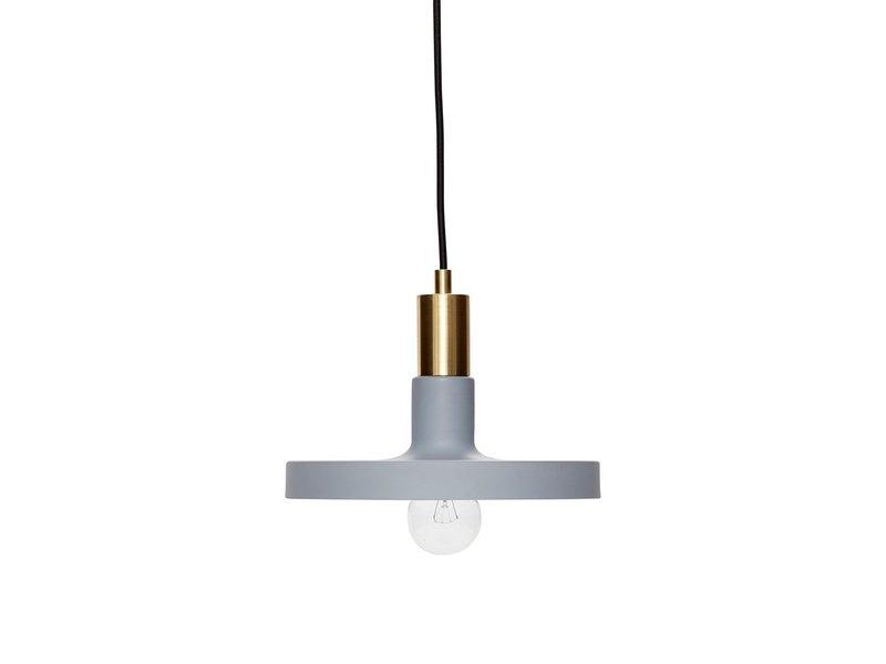 Hubsch Hanglamp lichtgrijs