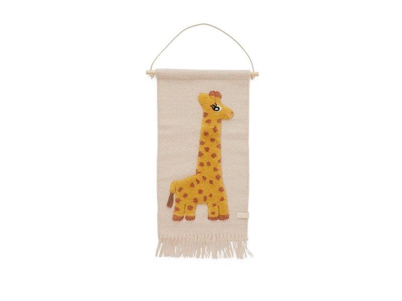 OYOY Wandhalter Giraffe