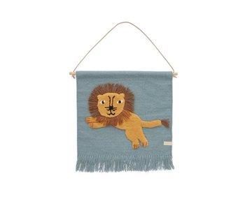 OYOY Wandhanger leeuw